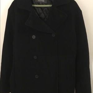 Kenneth Cole Reaction Wool Coat..Excellent!
